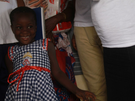 Providing Education to young girls in Ivory Coast