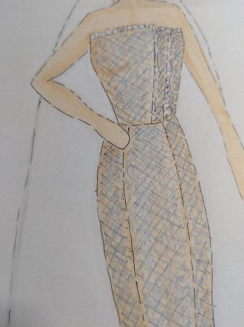 Custom Rehearsal Dinner/Bridal Shower Dress