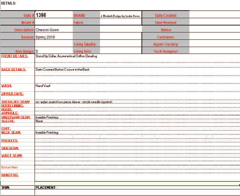 Spec Sheet 2 Details