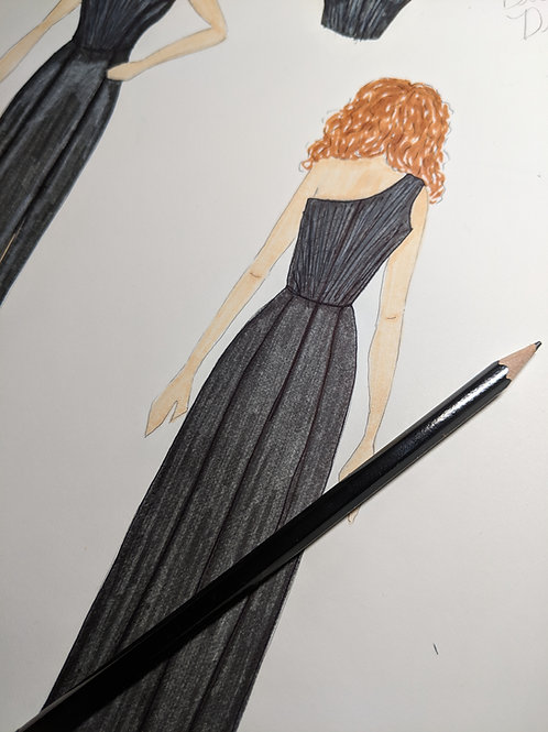 Custom Bridesmaid's Dress(es)