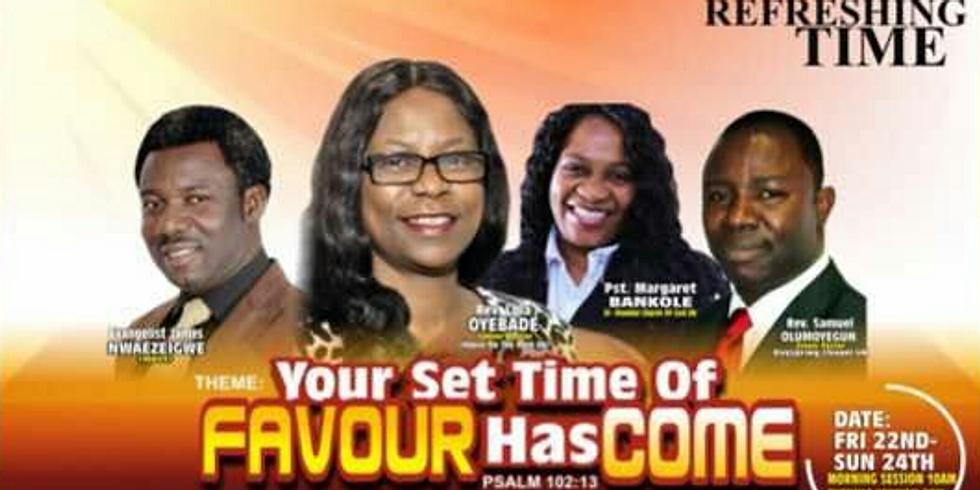 Refreshing Time at Vision Ministries International