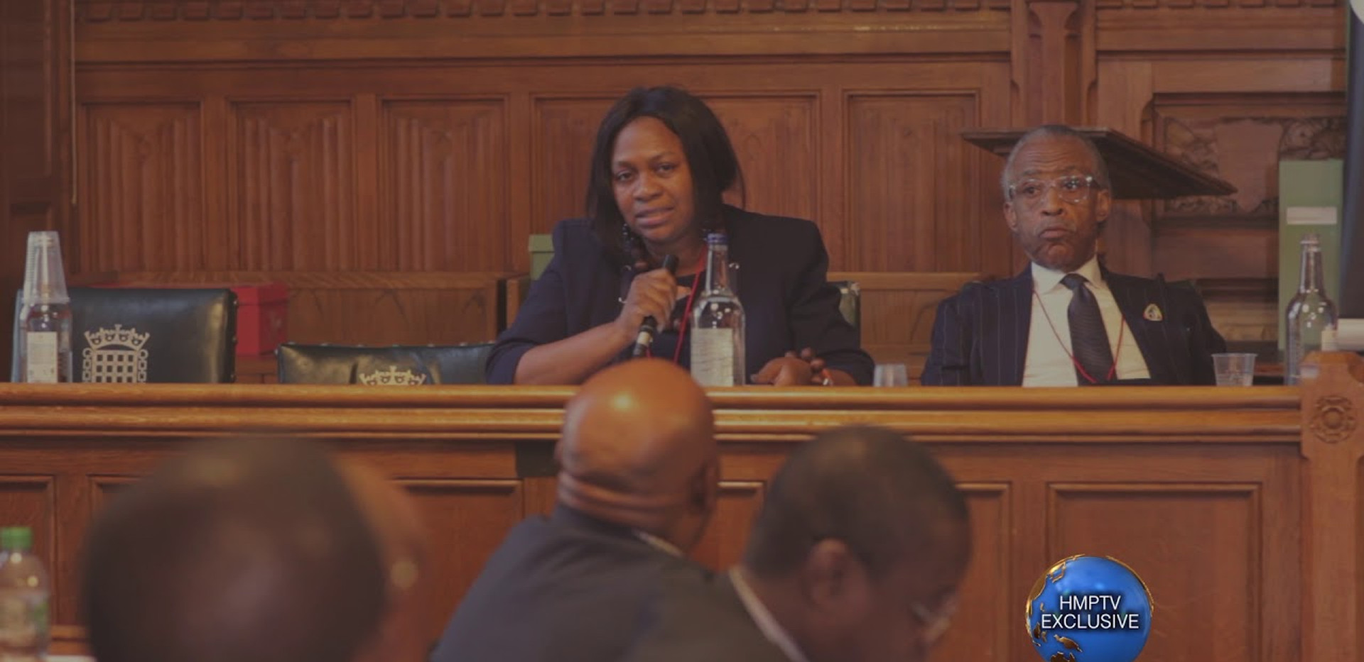 Margaret Bankole at the House of Commons