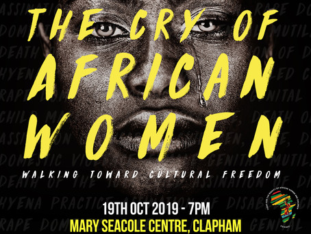The Cry of African Women Book Launch