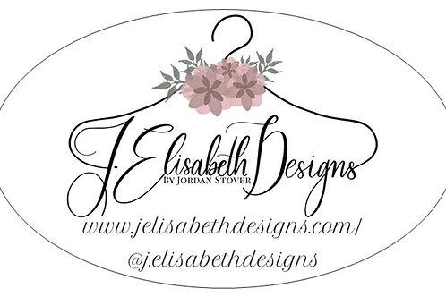 J. Elisabeth Designs Bumper Sticker