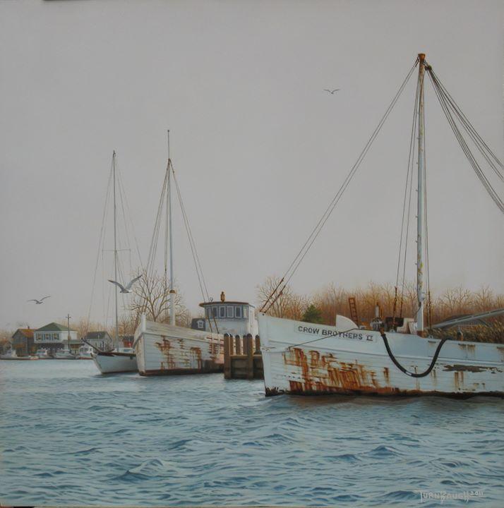 Original-Oil_Work-Boat_Crow-Brothers-Thompson-Creek