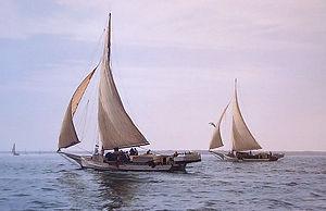 "Skipjack Fine Art Print by David T. Turnbaugh - ""Morning Breezes"" - Skipjack The Howard"