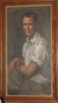 Portrait of David Turnbaugh - Original oil painting by Ann Schuler