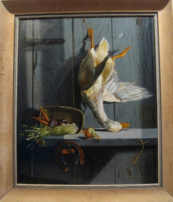 original_early-oil-on-canvas_duck-dinner