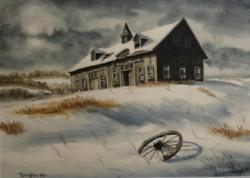 original_watercolor_Barn-in-snow