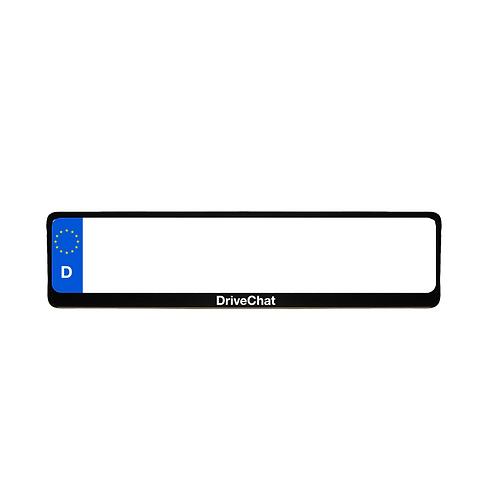 Kennzeichenhalter schwarz (1 Stück)