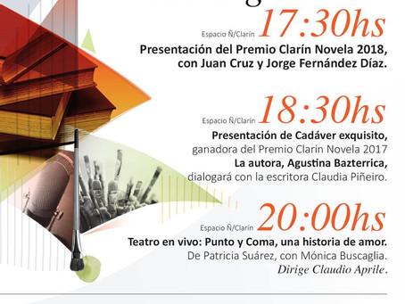 #Feria / Actividades en la Feria del Libro de Buenos Aires