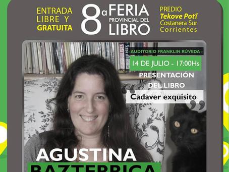 #Feria / Invitada a la Feria Provincial del Libro, Corrientes