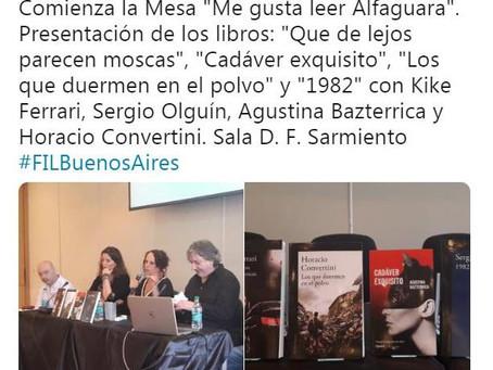 #Panel / Mesa Alfaguara - Feria del Libro de Buenos Aires