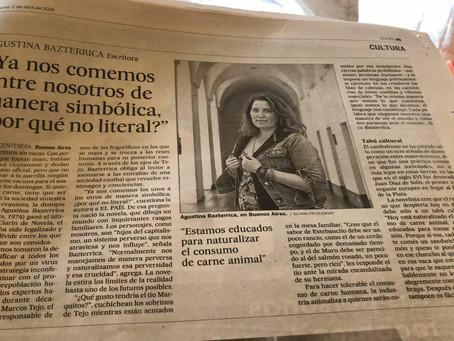 #Entrevista / Entrevista en el diario El País