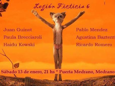 #Lectura / Leo en el Ciclo Legión Ficticia