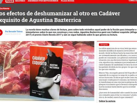 #Reseña / Bernabé Tolosa leyó #CadáverExquisito