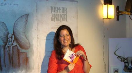 Video y fotos de la presentación de la novela Matar a la Niña