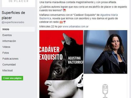 #Entrevista / Entrevista en el programa de Radio Superficies de Placer