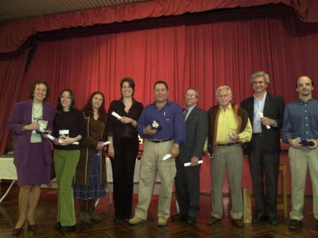 Entrega del Premio de la Biblioteca Popular de Olivos.