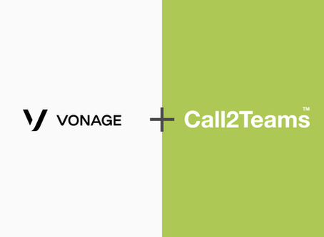 Call2Teams and Vonage Partner to  Deliver Microsoft Teams Integration for  Enterprise Customers