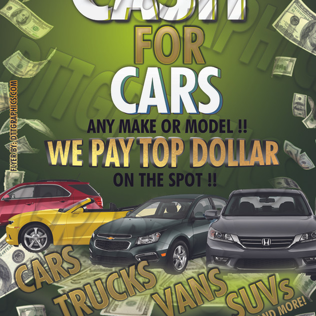 CASH FOR CARS - MIKE - JC - 4BY6 INCHES