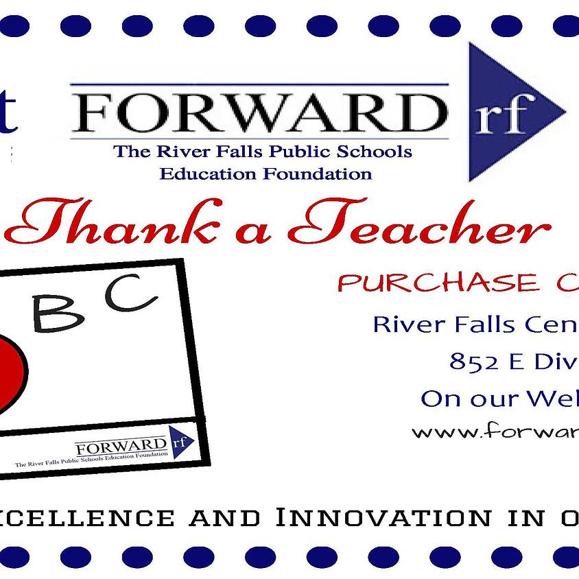 """""""Pay It FORWARD"""" Thank a Teacher Cards (1)"""