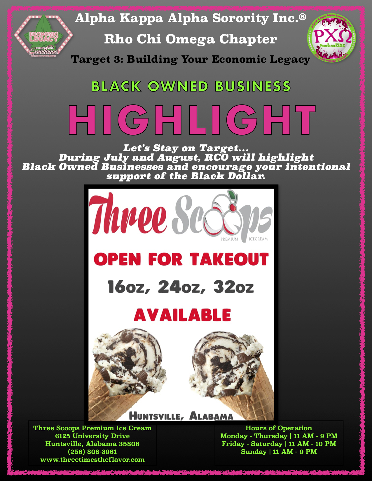 RCO Black Owned Business Highlight - Thr