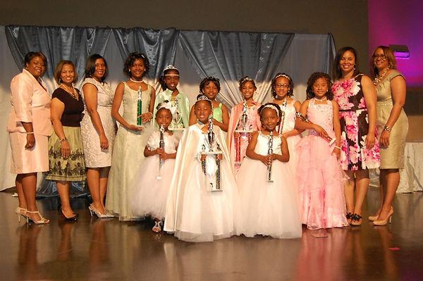 2015 Angel Pageant Winners