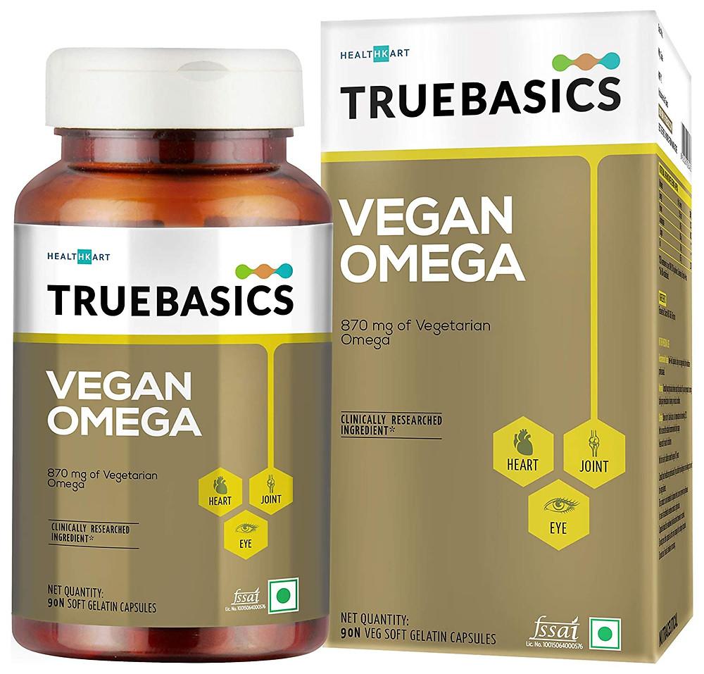 Vegetarian Omega 3 Capsules in India