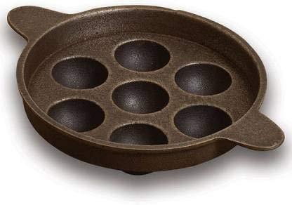 cast iron panniyaram pan
