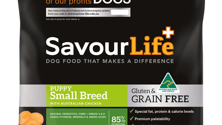 Savour - Life GF Puppy Small Breed 2.5kg