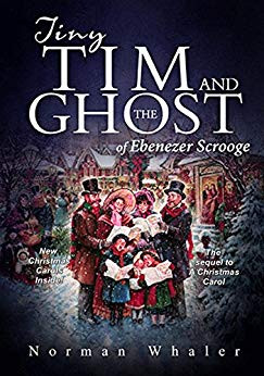 Book Cover of Tiny Tim and the Ghost of Ebenezer Scrooge reviewed by Stacie Haas
