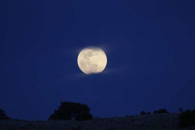 New Mexico Full Moon, by K.S. Brooks
