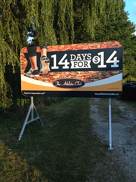 Portable Signs London Ontario