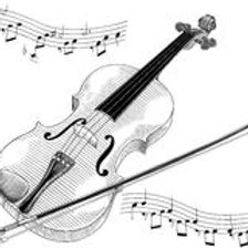 black-white-vector-illustration-violin-2