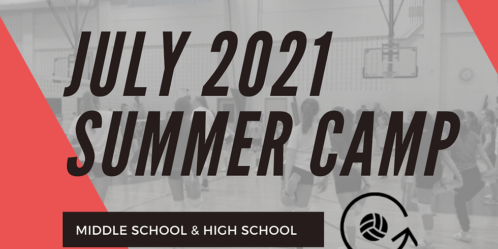 7/16, 7/17 & 7/18 Middle/High School Camp