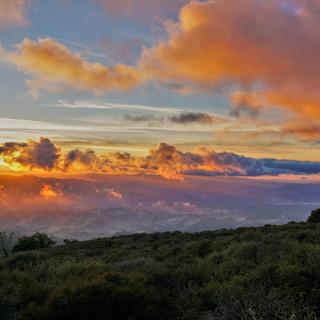 Sunset from Mt. Diablo