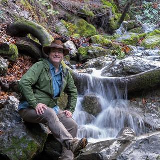 Brian Vandemark in his natural habitat