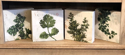 "Darren Gygi - ""Herbs"" Gallery Wrapped Giclee Prints"