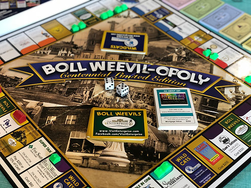 Boll Weevil-Opoly Centennial 1st & 2nd Edition Board Games