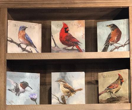 "Darren Gygi - ""Birds"" Gallery Wrapped Giclee Prints"