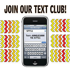 Join Jungle Casin Text Club Text: JUNGLE1000 To: 57711