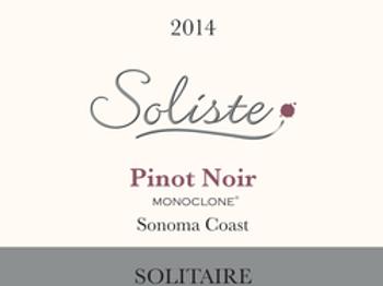 Soliste Solitaire Pinot Noir 2014