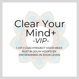 Clear Your Mind VIP Hurray for Today Coa