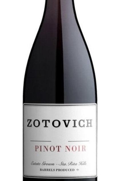 Zotovich Vineyards Estate Pinot Noir 2018