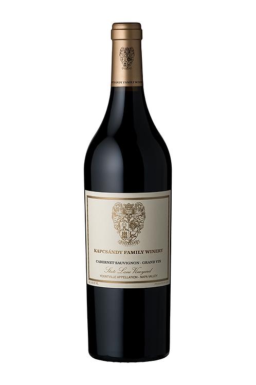 Kapcsándy State Lane Vineyard Cabernet Sauvignon Grand Vin 2012 MAGNUM