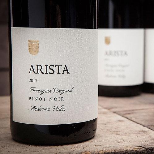 Arista Winery Ferrington Vineyard Pinot Noir 2017