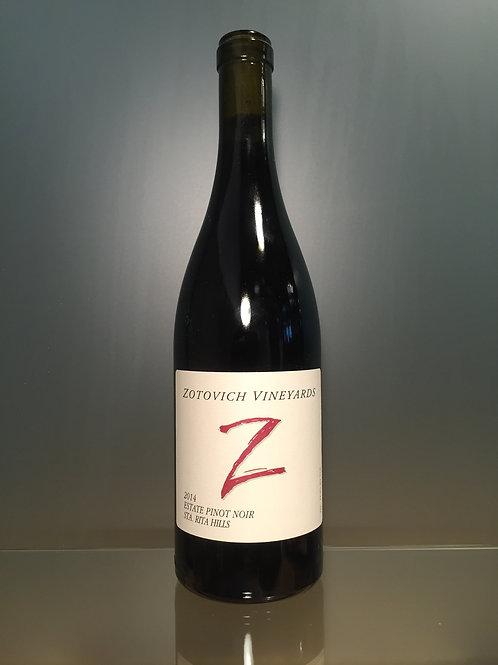 Zotovich Vineyards 'Z Cuvée' Estate Pinot Noir 2014