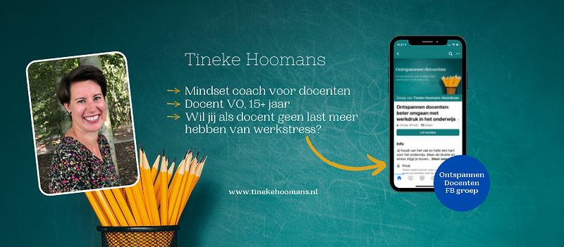 Ontspannen Docenten Facebookgroep - Tineke Hoomans Mindset coach