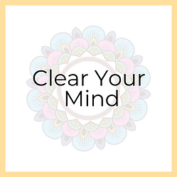 Clear Your Mind basis Hurray for Today C